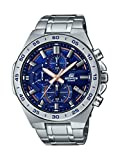 Casio Men's Edifice Quartz Watch with Stainless-Steel Strap, Silver, 26 (Model: EFR-564D-2AVCR)