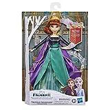 Disney E8881XG0 Frozen Traummelodie Anna - Muñeca Cantando la canción So wird's Immer Sein de la película Disney Frozen 2, Juguete para niños
