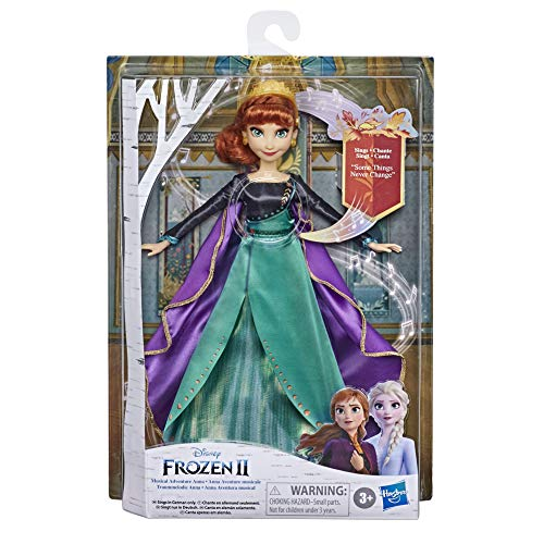 Disney E8881XG0 Frozen Dream Melody Anna Singing Doll Sings The Song 'So Will's Always Be' From The Disney Movie Frozen 2 Toy for Children