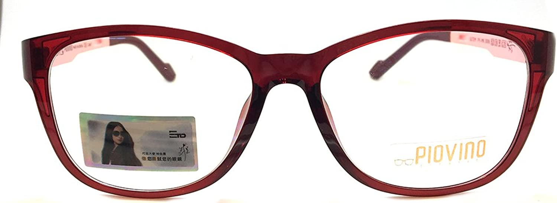Piovino Prescription Eye Glasses Frame Ultem Super Light, Flexible PV 3006 C170