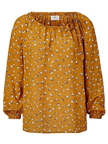 Sienna Damen Bluse Gelb 36 Viskose