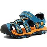 SAGUARO Summer Enfant Sandales Fille Outdoor Sandales Garçon Antidérapant Chaussures de Plage Bleu 31
