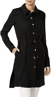 Calvin Klein Womens Button Front Jacket