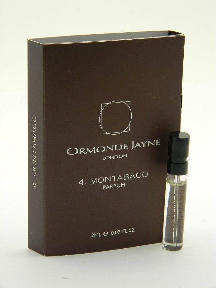 家事影響力のある王族オーモンド ジェーン モンタバコ パルファン 2ml(Ormonde Jayne Montabaco Parfum Vial Sample 2ml)