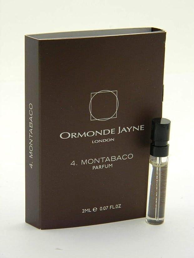 即席気配りのある近傍オーモンド ジェーン モンタバコ パルファン 2ml(Ormonde Jayne Montabaco Parfum Vial Sample 2ml)