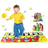 MONA@FILTER Almohadilla de Piano Touch Game Keyboard Music Carpet Juguetes de educación temprana para bebés para Regalo Infantil