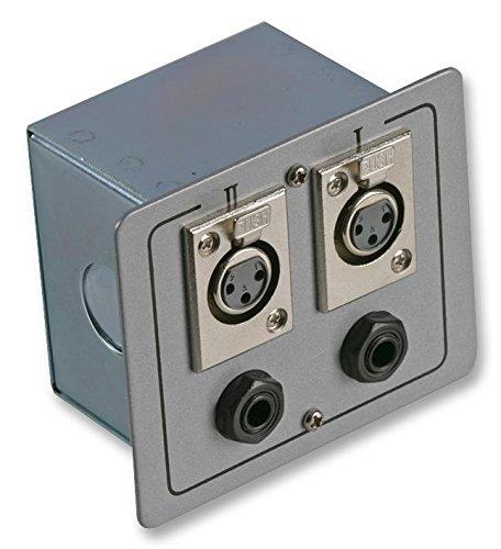 Pulso pls00513 caja de conexión 2 x XLR S + JACK [1], revestido (Epítome verificado): Amazon.es: Electrónica