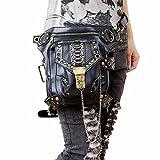 レディースメンズレッグバッグ 防水 バイクウエストツールバッグ 多機能 タクティカルスポーツ アウトドアリュックショルダーヒップバッ