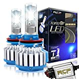 RCP H11 H8 H9 LED Headlight CREE Bulbs Conversion Kits with Canbus, 70W