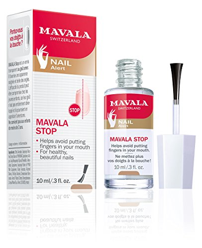 Mavala Stop Deterrent Nail Polish Treatment | Nail Care to Help Stop Putting Fingers In Your Mouth |...