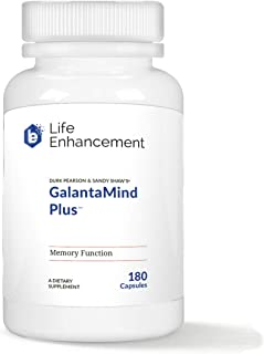 Life Enhancement Galantamind Plus Supplement | Boost Memory, Cognitive Function, & Energy | 90 Servings
