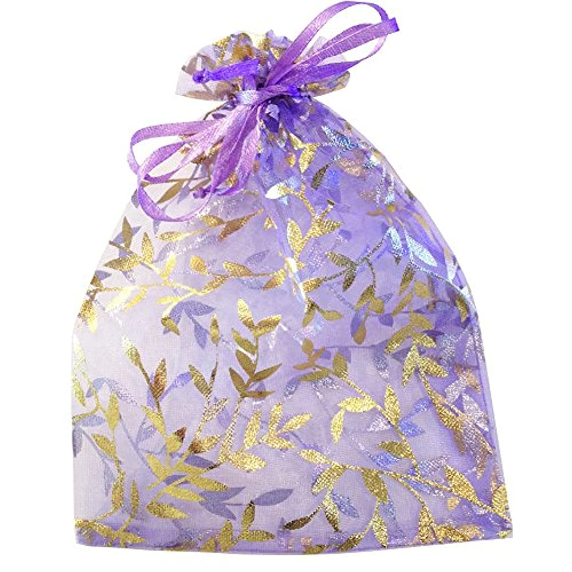 Lavender with Golden Leaves 6 by 4.5 Inches