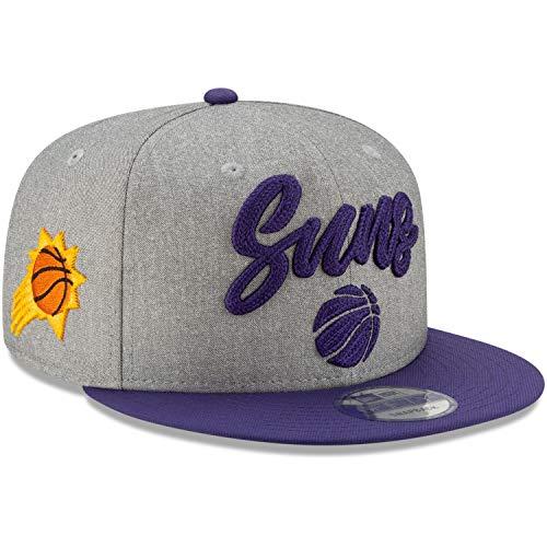 New Era 9FIFTY Snapback Cappellino - NBA 2020 DraFT grigio mélange - Taglia unica, Uomo, Phoenix Suns., M / L