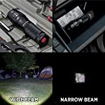 GearLight LED Tactical Flashlight S1000 [2 Pack] - High Lumen, Zoomable, 5 Modes, Water Resistant Light - Camping… 14 Ultra Bright & Long-lasting - Easily light up an entire room or focus in on objects up to 1000 feet away! 10 times brighter than old incandescent lights. Conveniently powered for hours with 3 AAA batteries or a single rechargeable battery. (Batteries are not included) Compact, Adjustable Focus, & Five Modes - 5 Useful Setting and wide-to-narrow beam zoom makes it ideal for use around the house, dog walking, or camping. It is compact enough to fit in your pocket, backpack, or purse allowing for easy storage and quick access. Water Resistant & Virtually Indestructible - Built for rough handling, this flashlight can survive a 10-foot drop or being temporarily submerged under water. You can even freeze it or run it over with a truck, and it will still work! Suitable for use in rain, snow, or emergency situations.