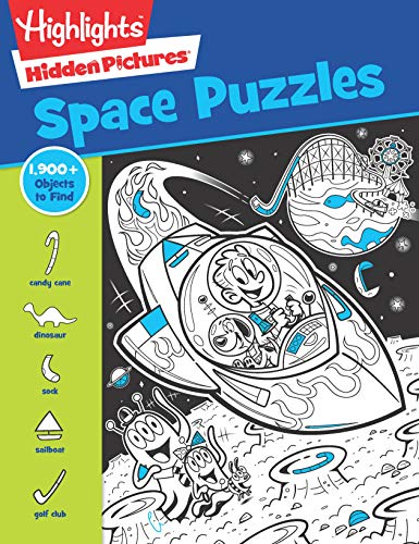 Space Puzzles (Highlights Hidden Pictures)