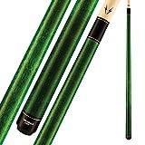 "Viking Valhalla 100 Series No Wrap 2 Piece 58"" Pool Cue Stick (19oz, Green)"