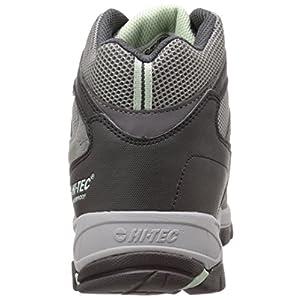 Hi-Tec Women's WN Logan Mid Waterproof Hiking Boot, Charcoal/Cool Grey/Lichen, 7.5 M US