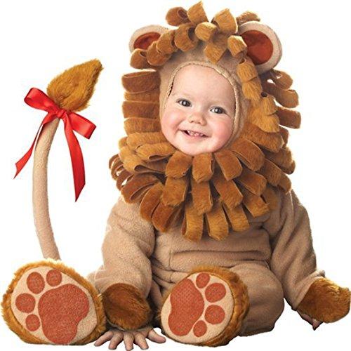 AKAUFENG Strampler Mädchen Tier Design Animal Kostüm Jungen, Kleinkinder Tier Halloween Party Kostüm Jumpsuit