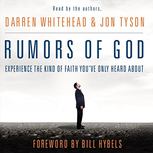 Rumors of God audiobook cover art