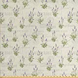 Lunarable Lavendel-Stoff von The Yard,
