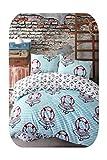 Juego de ropa de cama doble Sweet Lady Moda Star de algodón Ranforce juego de cama individual, matrimonial/matrimonial/Queen/King Size 3/4/5 piezas Juego de funda de edredón de tamaño Queen