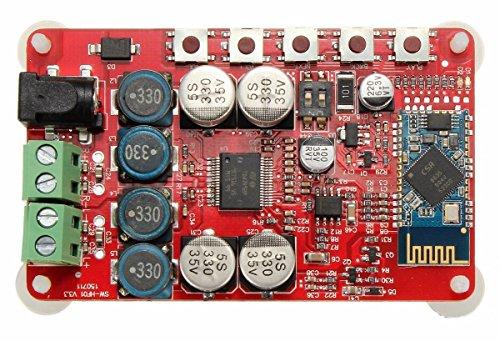 INSMA Amplifier Board TDA7492P Audio Receiver Amplifiers DIY Module 25W Dual Channel