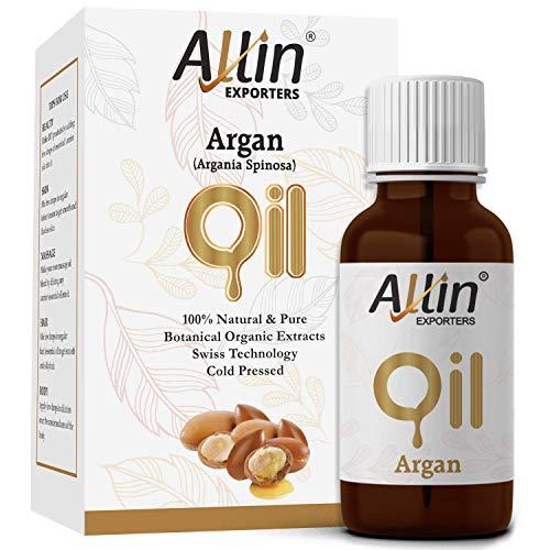 Allin Exporters Cold Pressed Argan Oil, 30ml