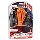Magic source Amp Wiring Kits 8 Gauge 5M/16.4Feet OFC Power Cable+Copper RCA Cable+60A Mini...