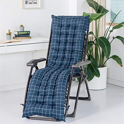 sdraio da giardino morbido Cuscino per sedia a sdraio con rivestimento antiscivolo Il morbido e comodo cuscino per divano reclinabile può essere utilizzato per rilassarsi in vacanza in terrazza sul giardino