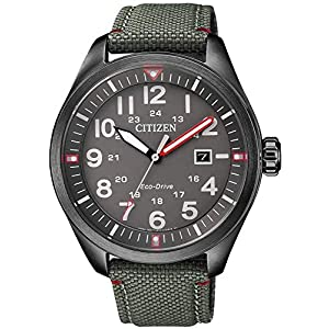 Reloj URBAN Eco-Drive hombre caja acero ip negro