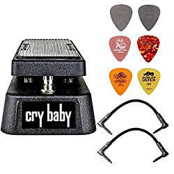 top rated Dunlop Crybaby GCB-95 Classic Wah Pedal Kit, 2 Patch Cables and 6 Different Dunlop Picks 2021
