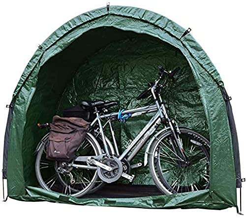 ZJWD Bike Tent Bicycle Storage Shed,Outdoor Bike Storage Tent Cover - Fits 2-3 Bikes