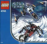 LEGO Alpha Team 4745: Blue Eagle Versus Snow Crawler