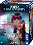 Kosmos 695156 Escape Tales - Low-Memory, Löst die Rätsel. Erlebt die Geschichte, Escape-Room-Spiel, spannendes Gesellschaftsspiel ab 18 Jahre, für 1 - 4 Personen, mehrfach spielbar