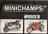 Minichamps Model Compatible con CATALOGO 2003 Edition 1 PAG.187 DIECAST PMCAT2003