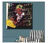 Andy Warhol Beethoven Mode Wandkunst Bilder Poster und