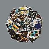 Doctor Who Tardis Sticker Set Anime Sticker Un montón de Laptop Bike Phone Guitar Cartoon Sticker Pack50Pcs