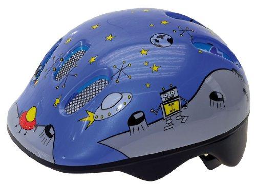 M-Wave Helm Baby Space Reflex, Blau, Grau, S