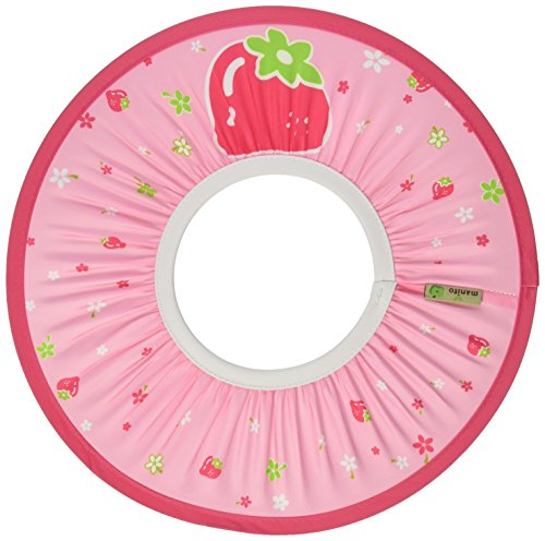 Manito Baby Shampoo Shower Hat/Cap/Visor/Shield, Strawberry/Pink