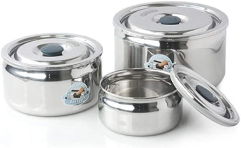 GREENKEEPS Max 84% OFF Stainless Steel One-touch C Locking Sealed Bargain sale Capability