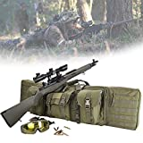 HNWTKJ Bolsa para Rifle Funda para Armas Pistola Bolsa de Almacenamiento con Correa de Hombro para Caza Pesca Mochila de Nylon Impermeable (Size : 93 * 31cm)