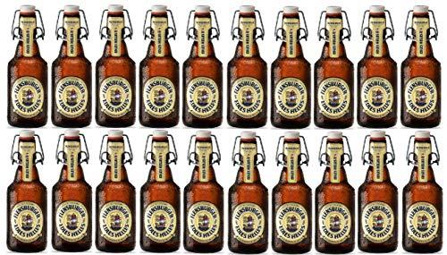 20 Flaschen Flensburger Edles Helles BG a 0,33 L 5,4% ink. MEHRWEG Pfand