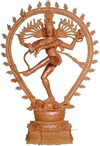 Attention brand Exotic India ZDN07-patina Finally popular brand Large Statue Patina Nataraja