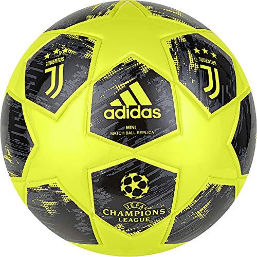 adidas Finale18 Juventus Mini Calcio, Giallo/Giallo/Carbone/Nero, 1