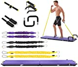 IDEER LIFE Portable Home Gym Workout Package All-in-one Fitness Platform with Yoga Mat/Resistance...