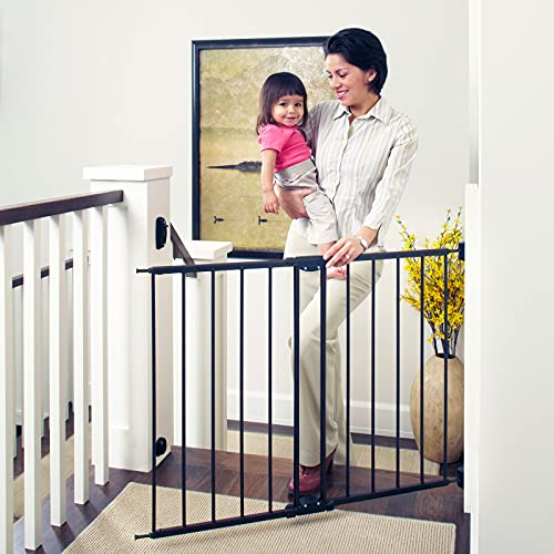 dongyu 47.85' Wide Easy Swing & Lock Baby Gate: Ideal For Wider Areas And Stairways. Hardware Mount. Fits Openings 28.68' - 47.85' Wide (31' Tall, Matte Bronze)