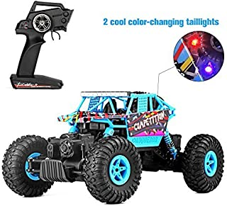 Geekper Electric RC Car - Off Road Remote Control Car RTR RC Buggy RC Monster Truck 1:18 4WD 2.4Ghz High Speed ( with 1 Re...
