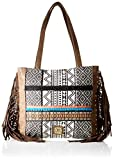 For Time Shopping, Bolso shopper hindú para Mujer, Multicolor, 36x32x2 cm