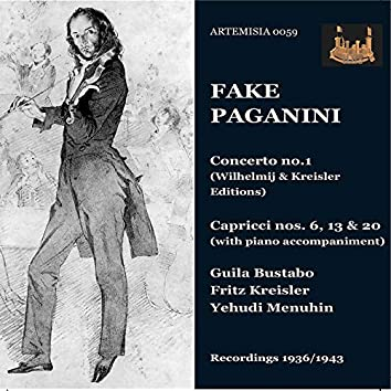 Fake Paganini Recordings 1936 - 1943
