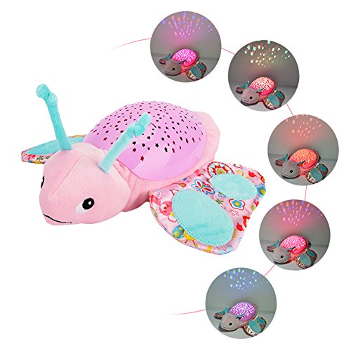 Plush Toy With Ceiling Projector Lights Musical Led Night Light Glowing Star And Moon Sleeping Time Show For Baby And Toddler Kids Room Butterfly Buy Online In Czech Republic At Czech Desertcart Com Productid